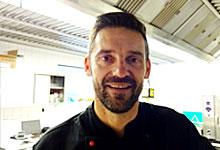 Holm Jakuszeit - Küchenleiter in der Mensa