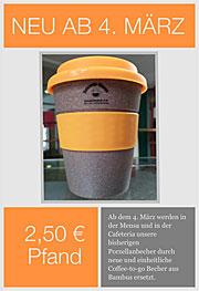 Der neue Pfandbecher für Coffee-to-go