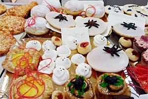 Kuchen vom Halloween