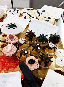 Spinnenkuchen Halloween