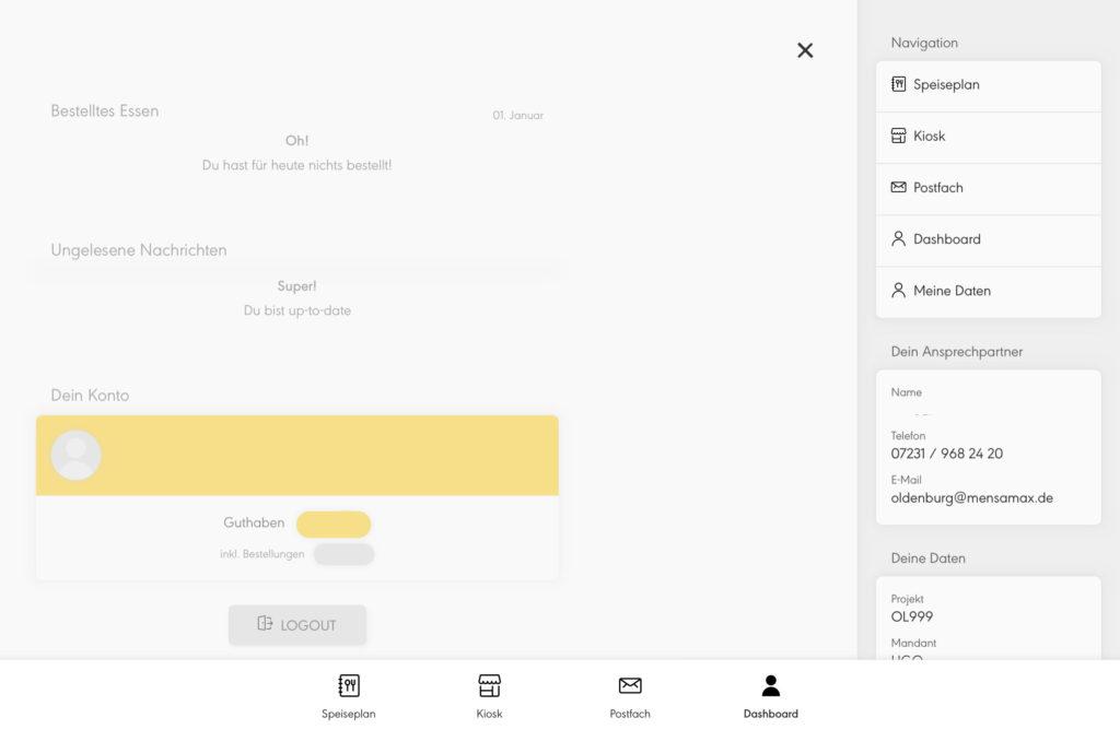 Navigation in der MensaMax App