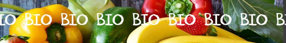 Gemüse und Obst jetzt in Bio-Qualität